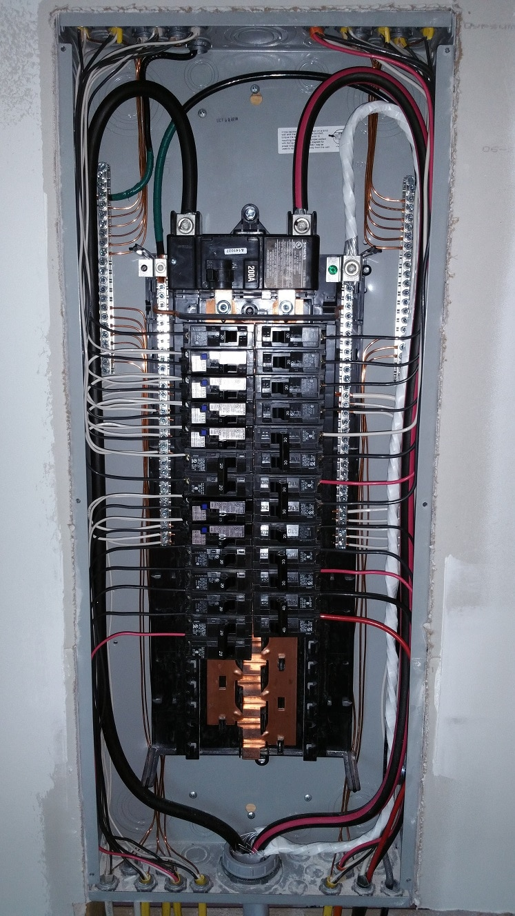 wiring diagram electrical panel 12 volt series wiring diagram solar panel purpose and history of electrical service panels | vero ...