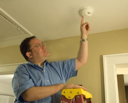 Check smoke detector
